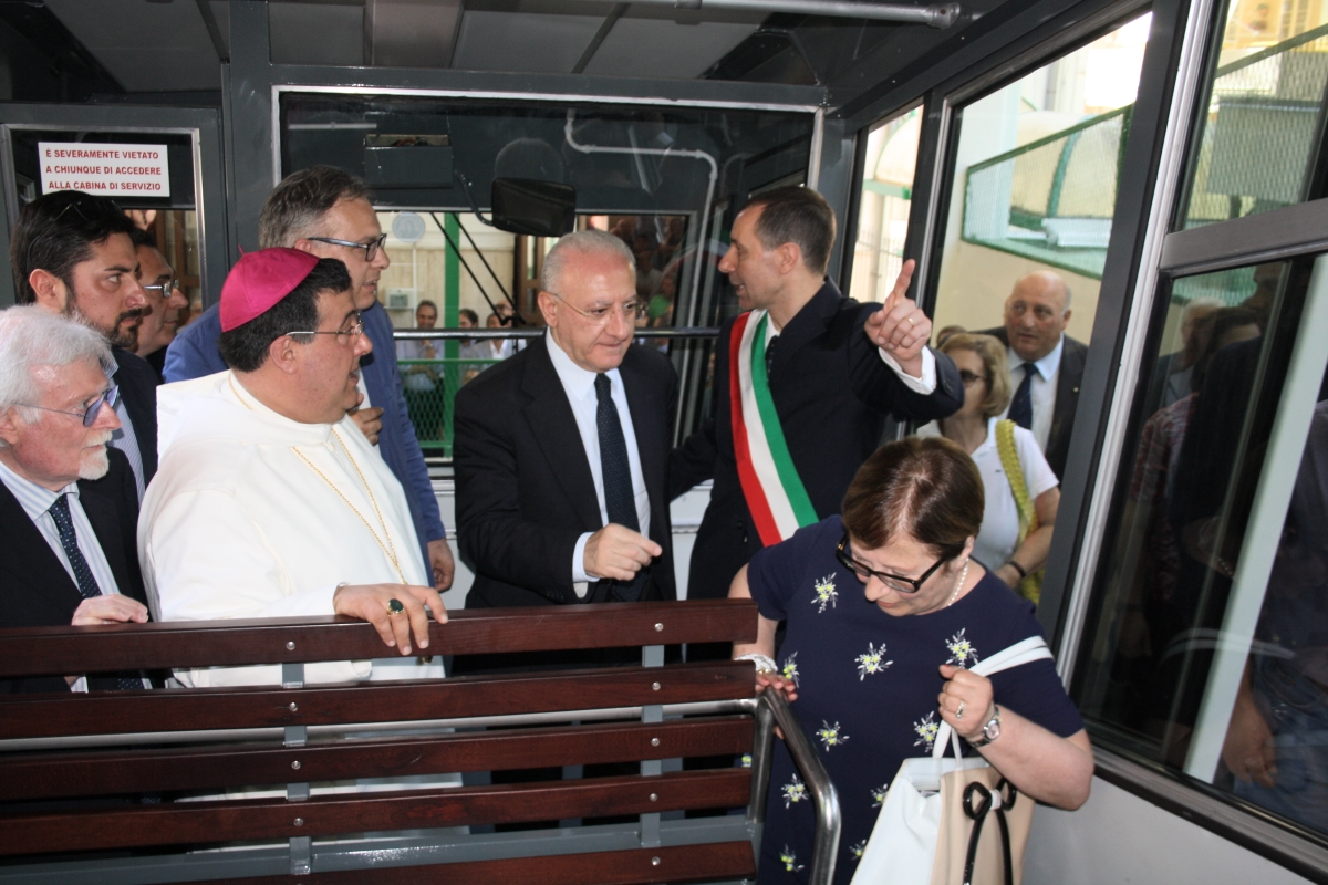 La Campania ritrova la funicolare di Montevergine