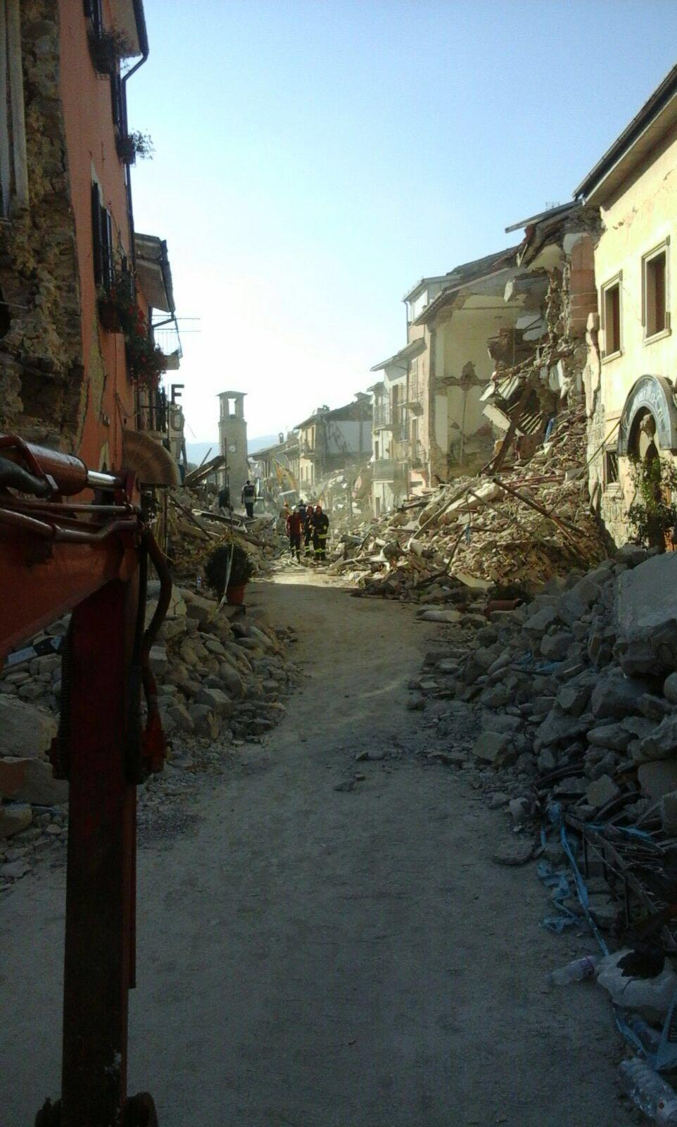 Sisma, raccolti quasi 6mila euro a Montella