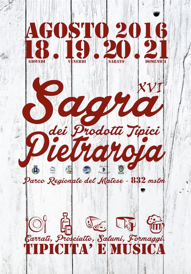 """""""Sagra dei prodotti tipici"""": gli appuntamenti dal 18 al 21 agosto"""