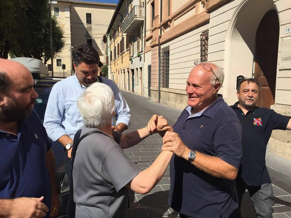 La Caritas di Benevento in delegazione a Rieti, presente l'Arcivescovo Accrocca