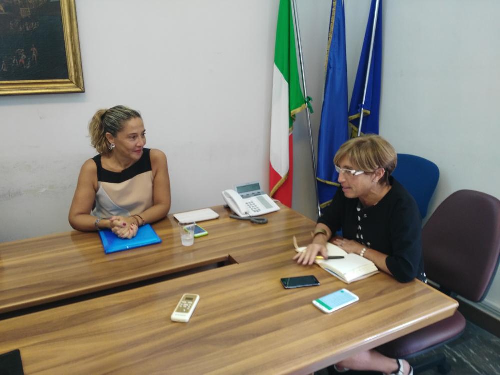 """Mazzoni incontra l'assessore regionale Angioli per """"Più Europa"""""""