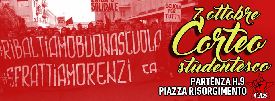 Benevento| Scuola, il 7 ottobre si scende in piazza