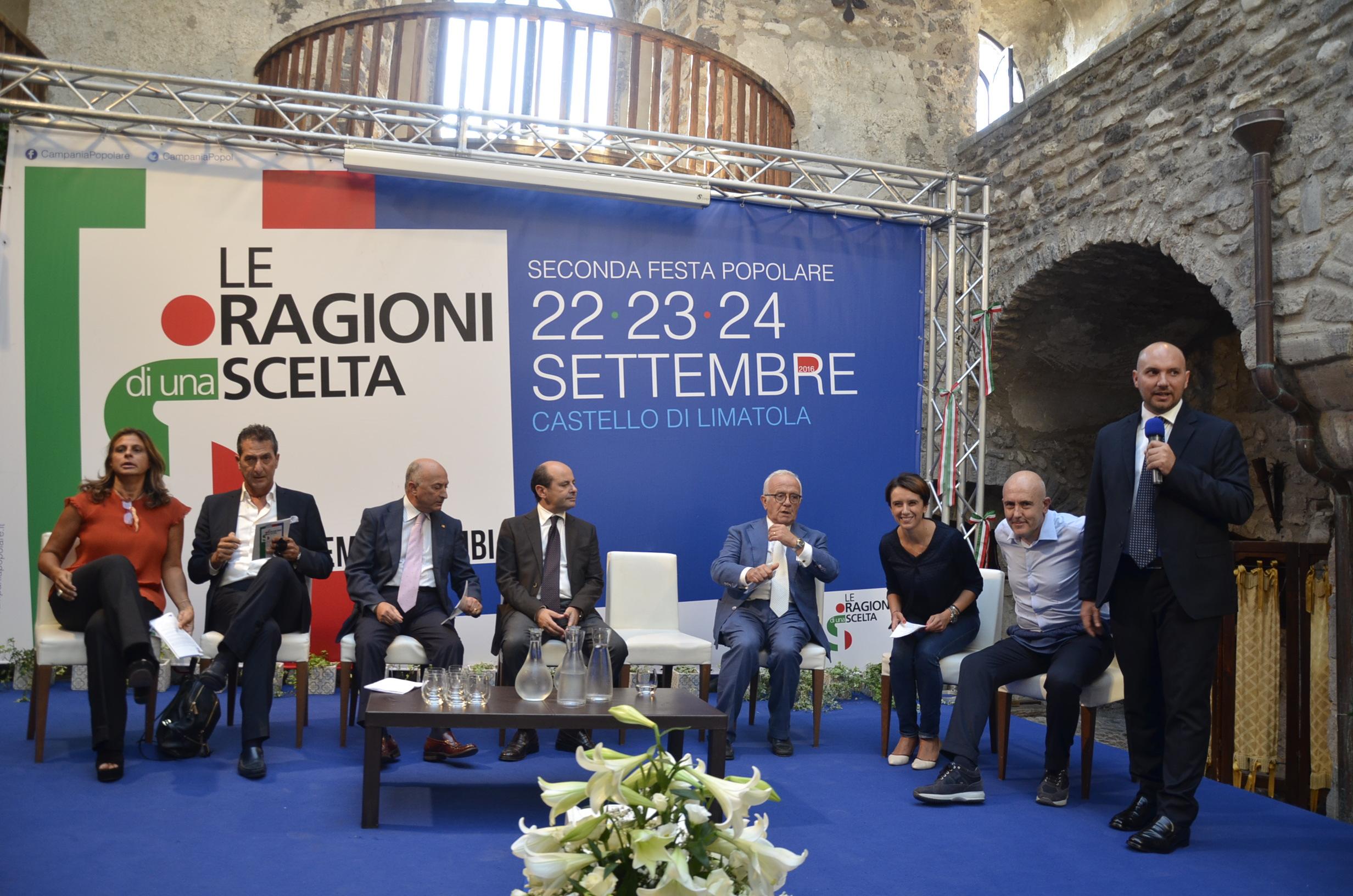Limatola  Festa NCD: si al referendum per confermare il cambiamento