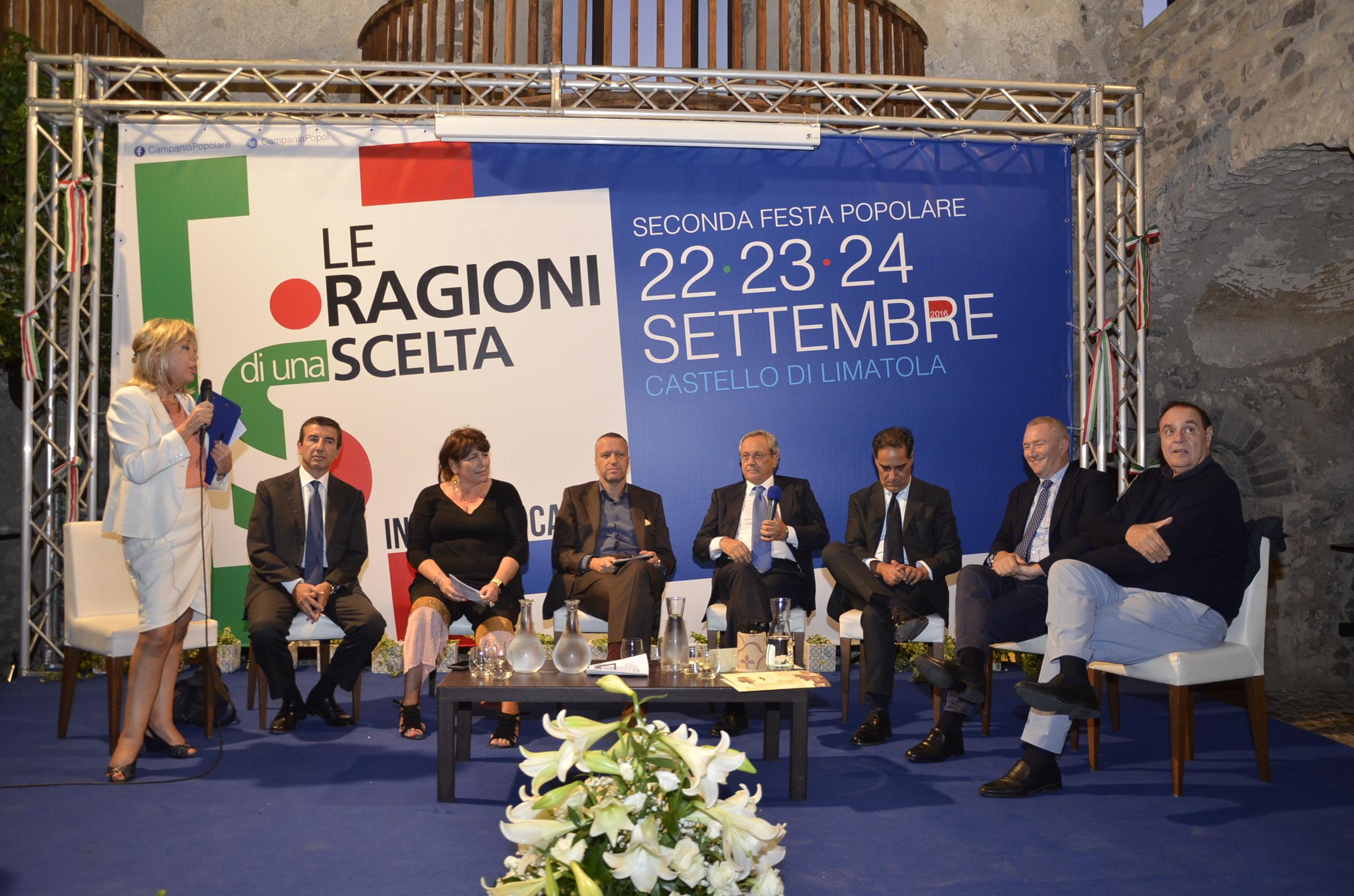 NCD, si chiude il meeting con il Ministro Alfano e Boschi