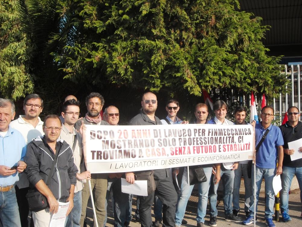 San Giorgio del Sannio| Sesmat: continua la protesta dei 28 informatici