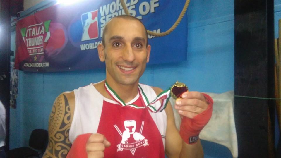 Cervinara| Boxe, De Vizia campione regionale senior