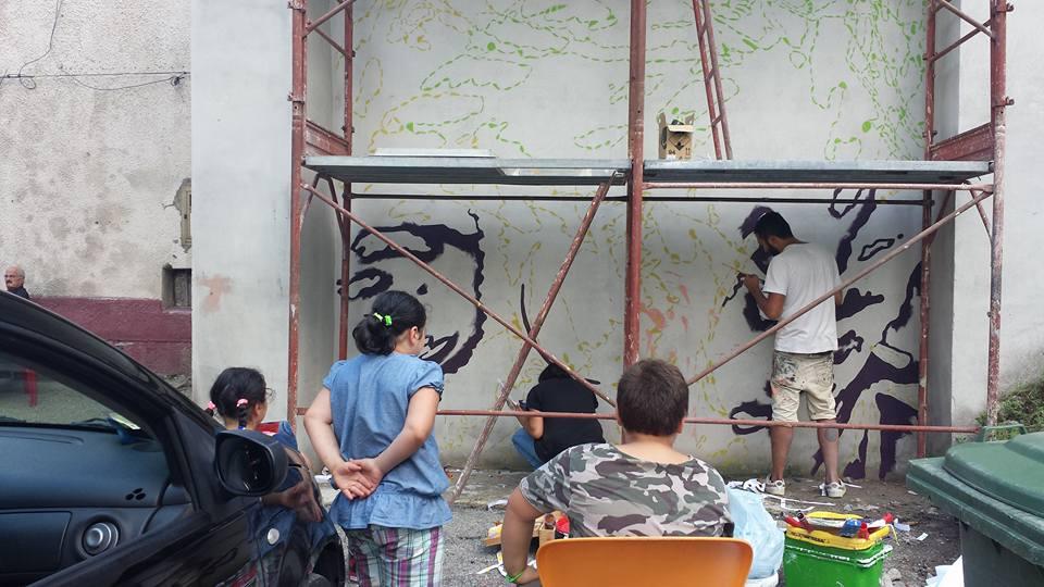 Cervinarte e #artedimezzo lanciano la street art in località Loffredo