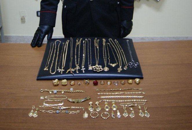 Tufara Valle  I Carabinieri sequestrano 600 grammi di oro
