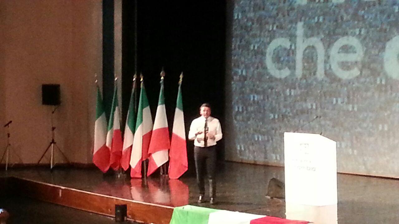 Benevento  Renzi a Benevento in novembre