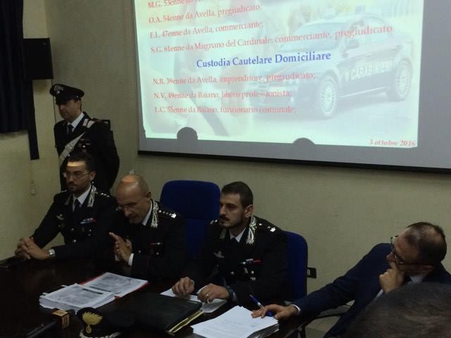 Avellino| Appalti pilotati, usura e corruzione: in carcere 7 persone del Mandamento