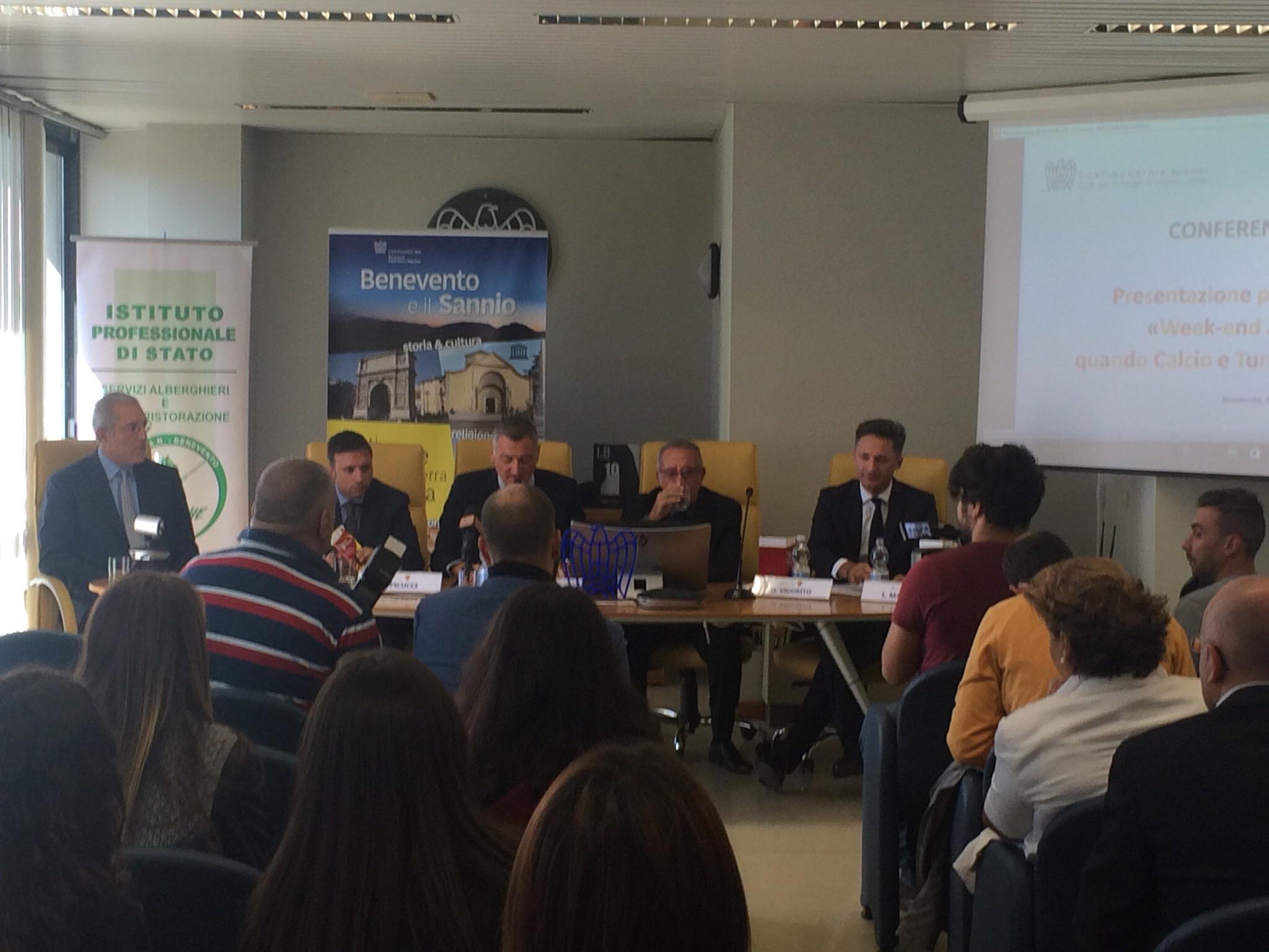 Benevento| Calcio e città fanno squadra per promuovere il turismo