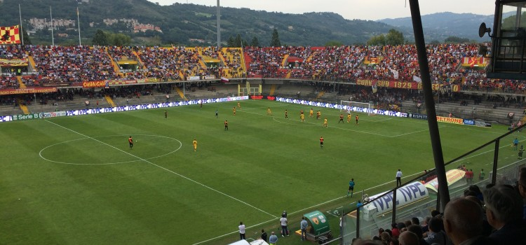 Benevento-Novara: 1-0. Ci pensa Chibsah. 3 punti a denti stretti