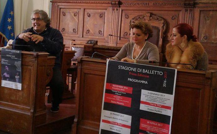 Benevento  Presentata la Stagione di Balletto 2016-2017