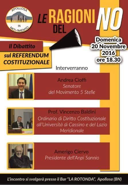 Apollosa| Domenica referendaria