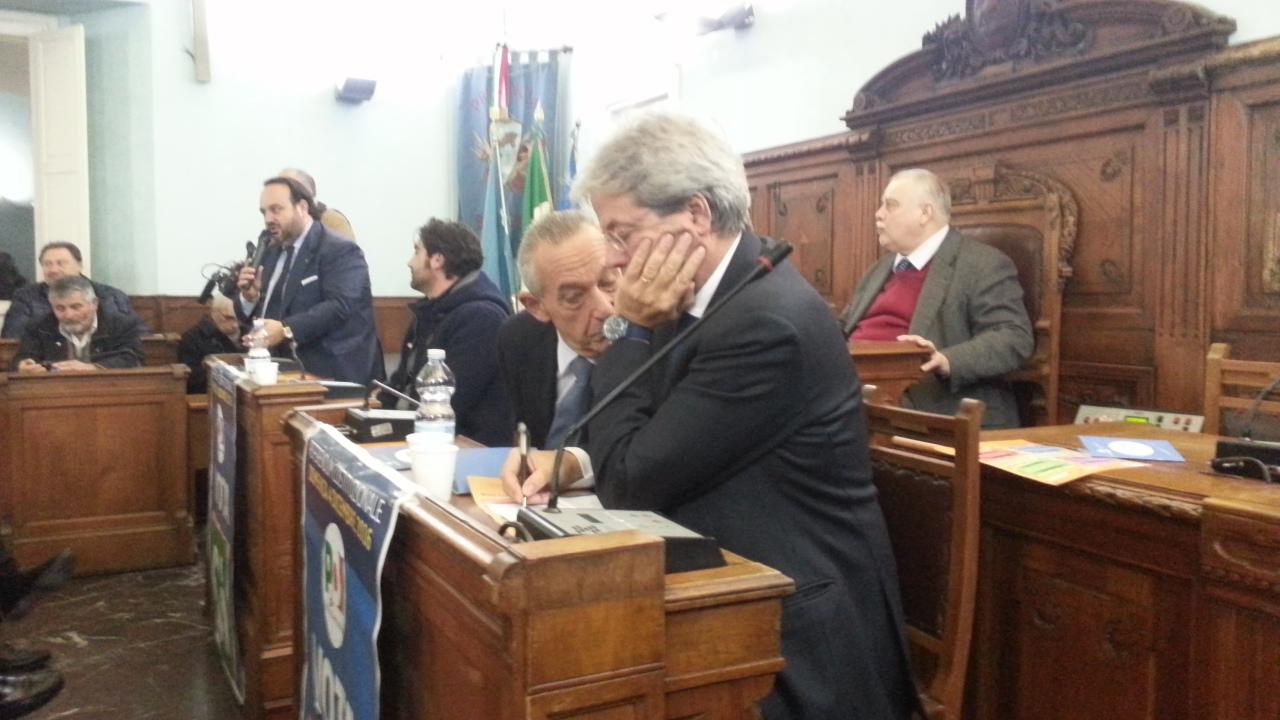 Benevento  Referendum e imprese, la giornata sannita di Gentiloni