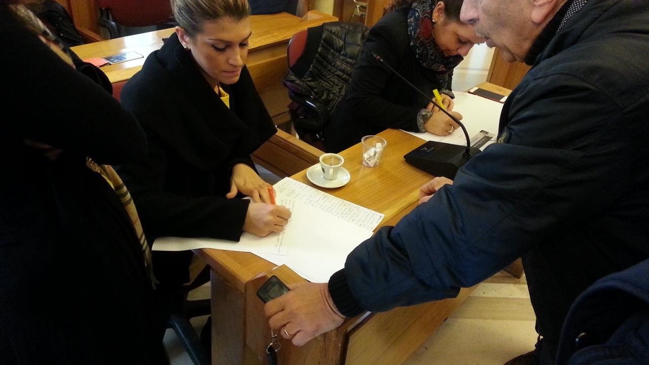Benevento| Mensa, la versione di Ingaldi e Castracane