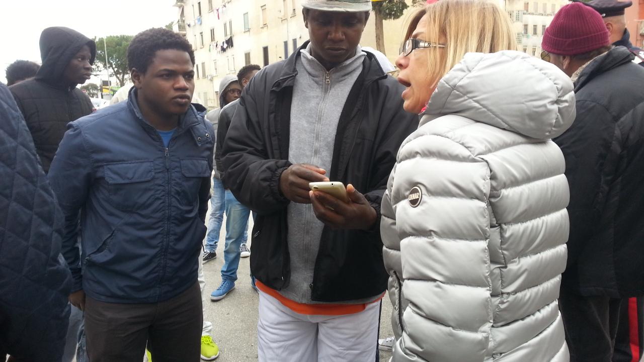 Benevento| Migranti a via Cocchia, Digos esemplare