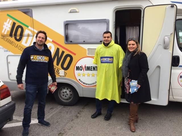 Referendum, Sibilia (M5s) fa tappa a San Giorgio del Sannio