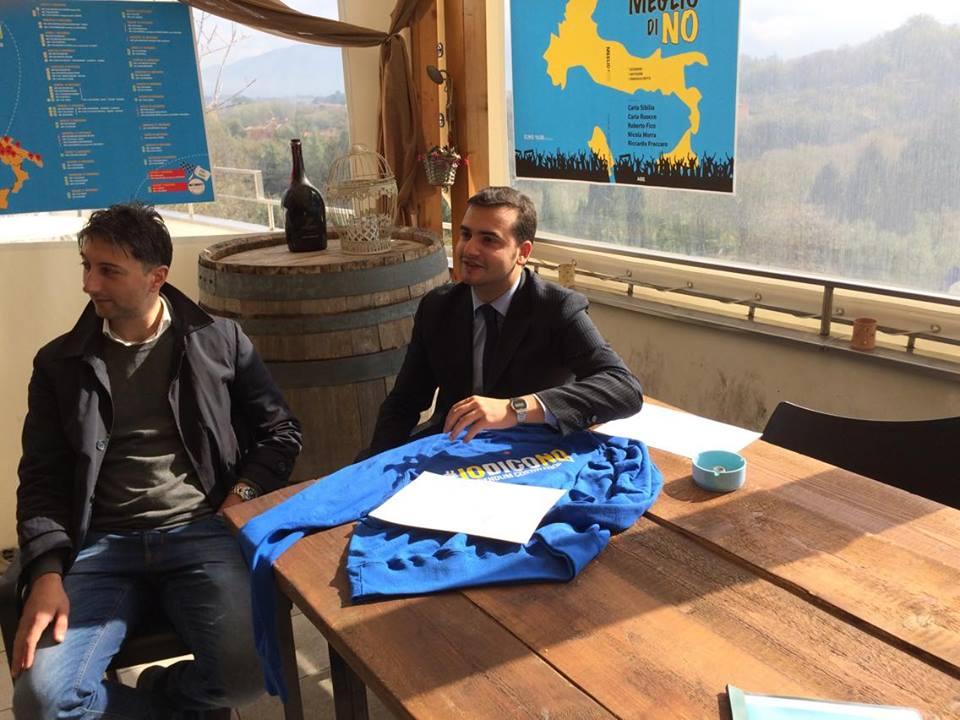 Avellino| Referendum, Sibilia inaugura il tour per il No
