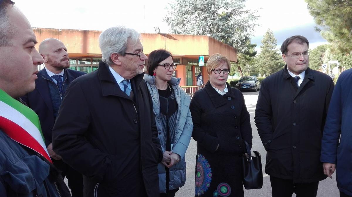 """De Vincenti e Del Rosso: """" ex Irisbus simbolo di rilancio del Sud"""""""