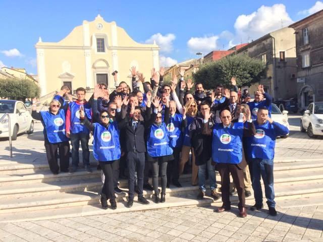 Cerreto Sannita| Un No al Referendum girando in 500