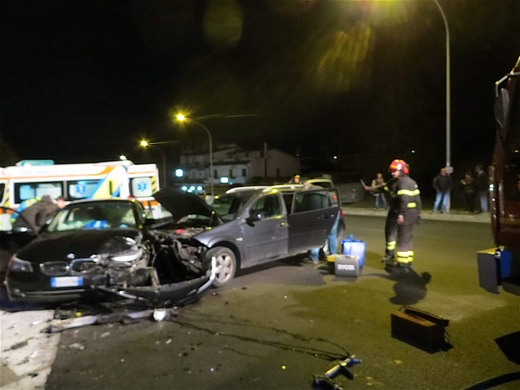 Benevento| Incidente a Capodimonte, due feriti