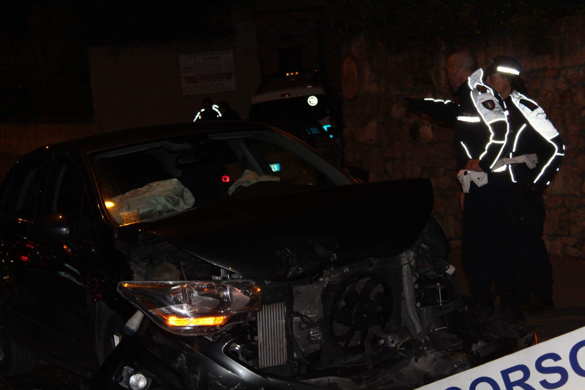 Benevento| Incidente in Via del Sole, due i feriti
