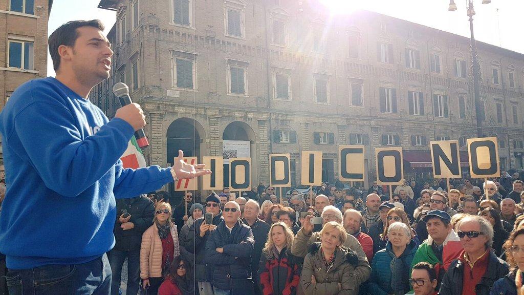 M5s: Fico, Sibilia e Di Battista ad Avellino