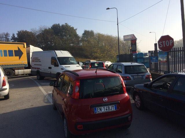 Valle Caudina| Traffico in tilt sull'Appia, malumori degli automobilisti