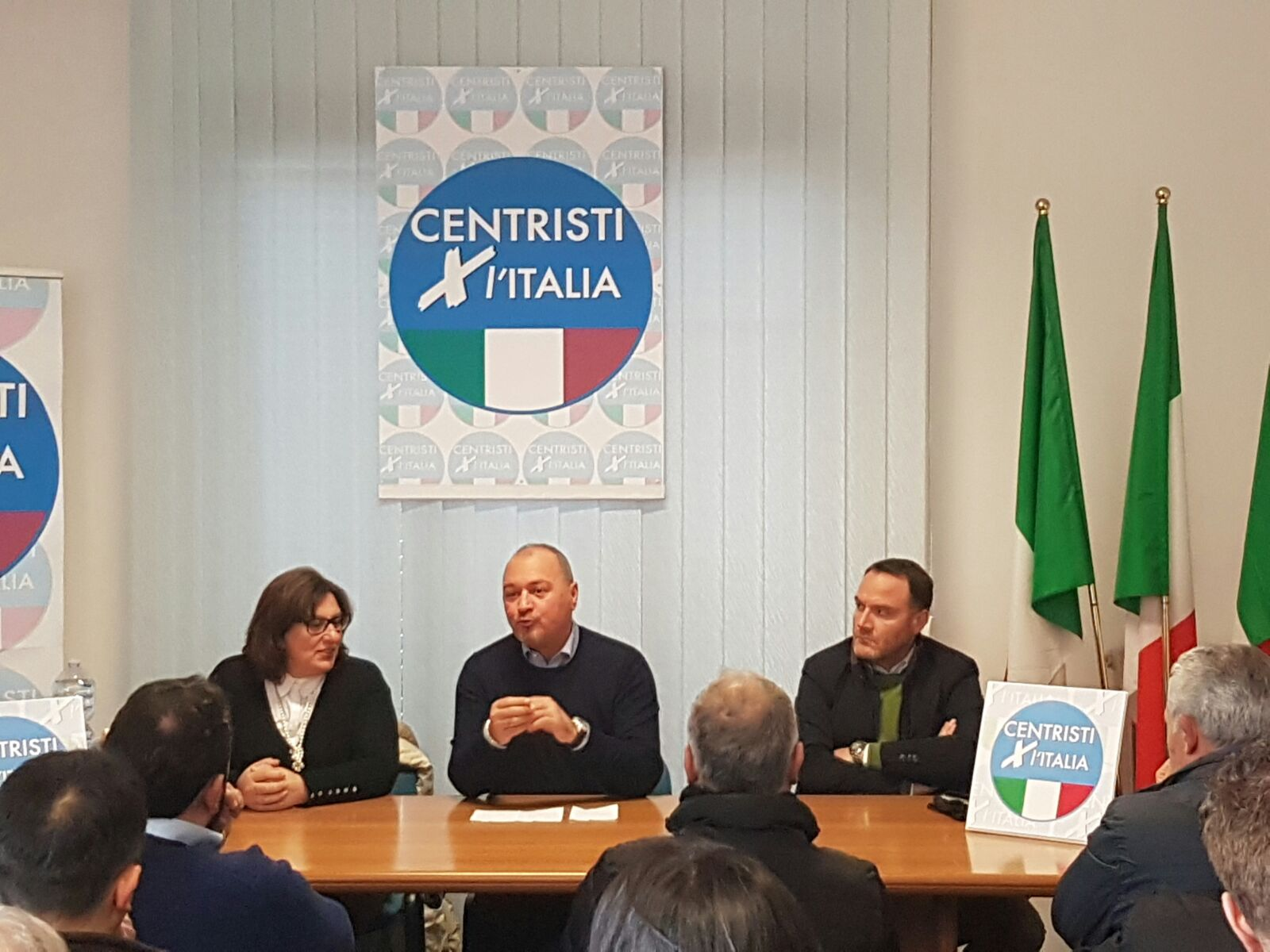 Benevento Centristi per l'Italia, Santamaria completa il traghettamento