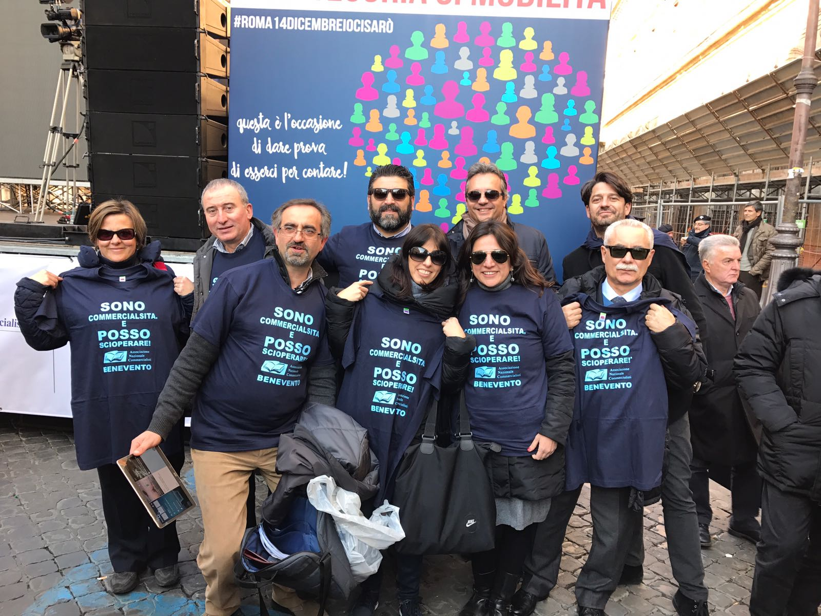Benevento| Protesta commercialisti: «Pronti allo sciopero»