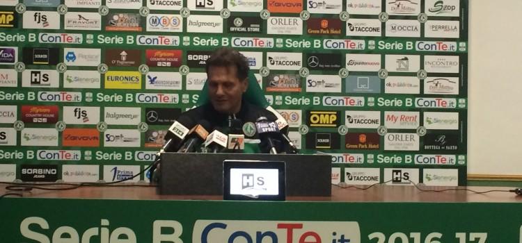 """Avellino, Novellino: """"Mi sento sempre in discussione. Siamo in emergenza ma daremo il massimo"""""""