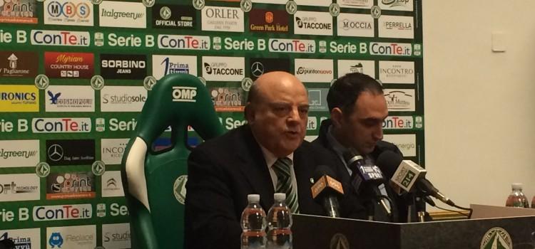 Avellino, domani conferenza stampa di Taccone