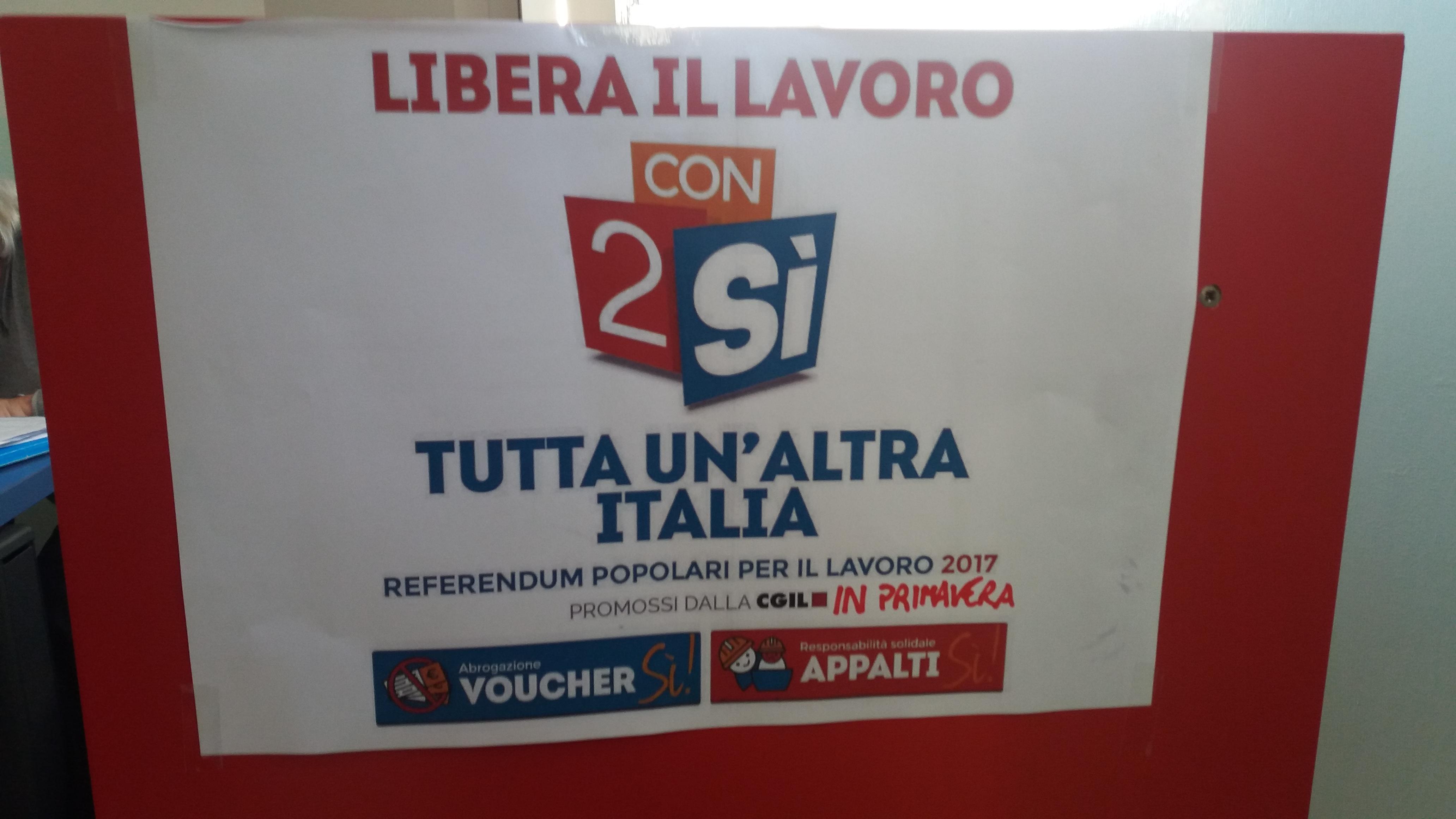Benevento| CGIL, al via campagna referendaria sul lavoro