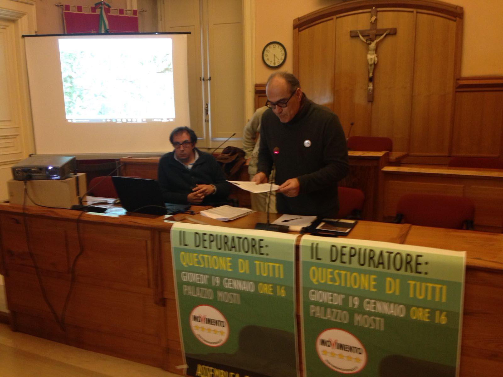 Benevento| Depuratori, da M5S proposte rivolte alla politica