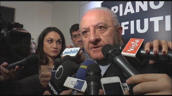 """De Luca a Telese, Mortaruolo: """"Sannio sempre protagonista"""""""