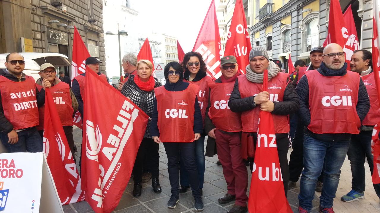 Benevento| Cgil chiama, Mastella non risponde
