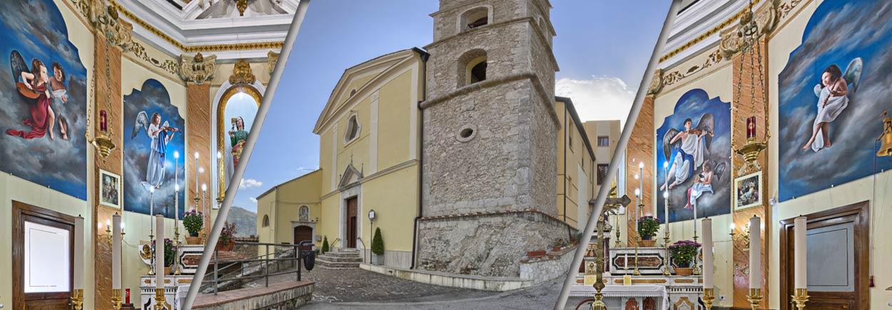 Serino| Raid in Chiesa, rubate corone e ostie consacrate. L'appello dei carabinieri