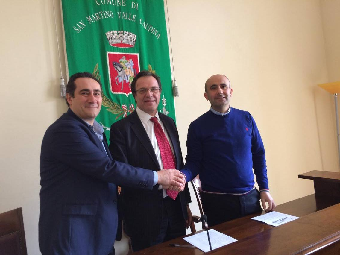 San Martino V. C.| Nuova intesa con Irpiniambiente