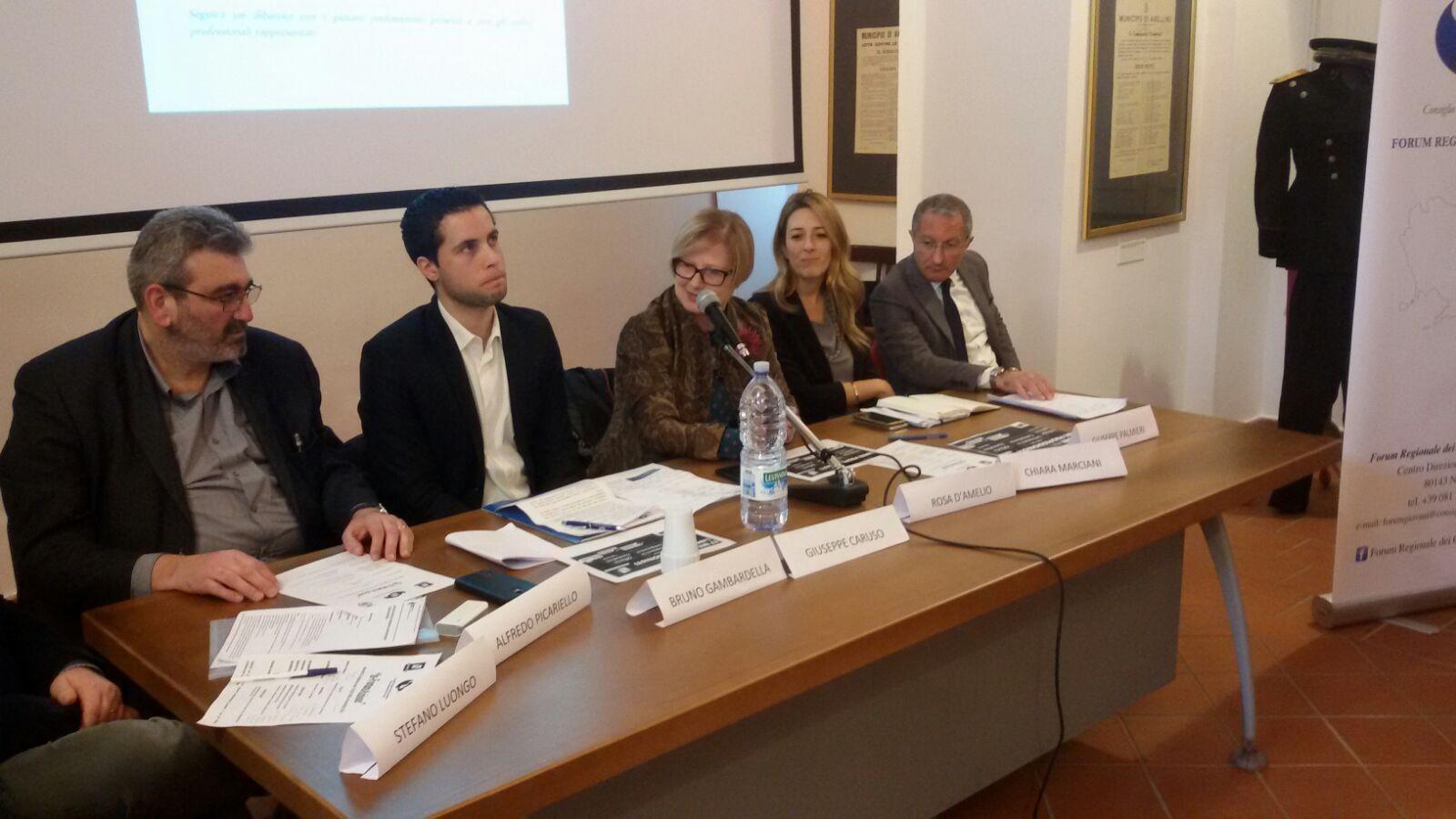 Avellino  Marciani: la Regione punta sui professionisti