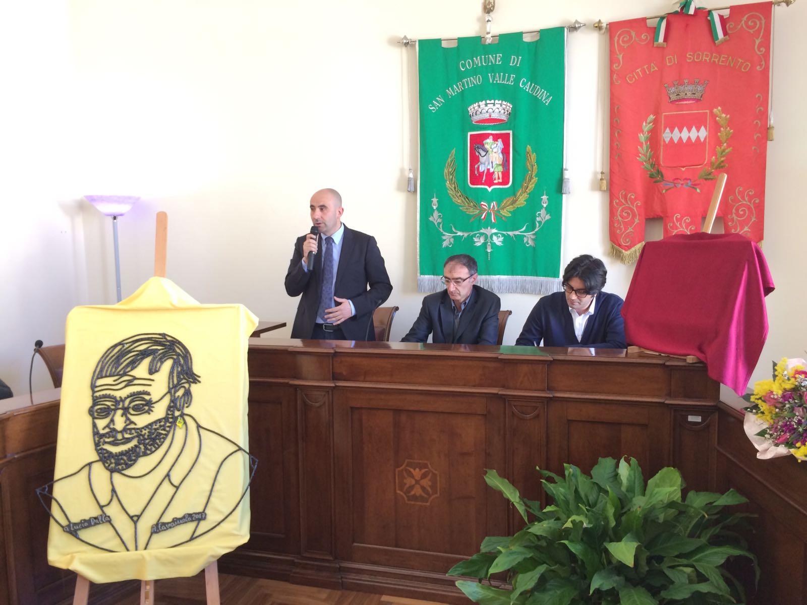 """S. Martino e Sorrento """"gemelle"""" nel segno di Lucio Dalla"""