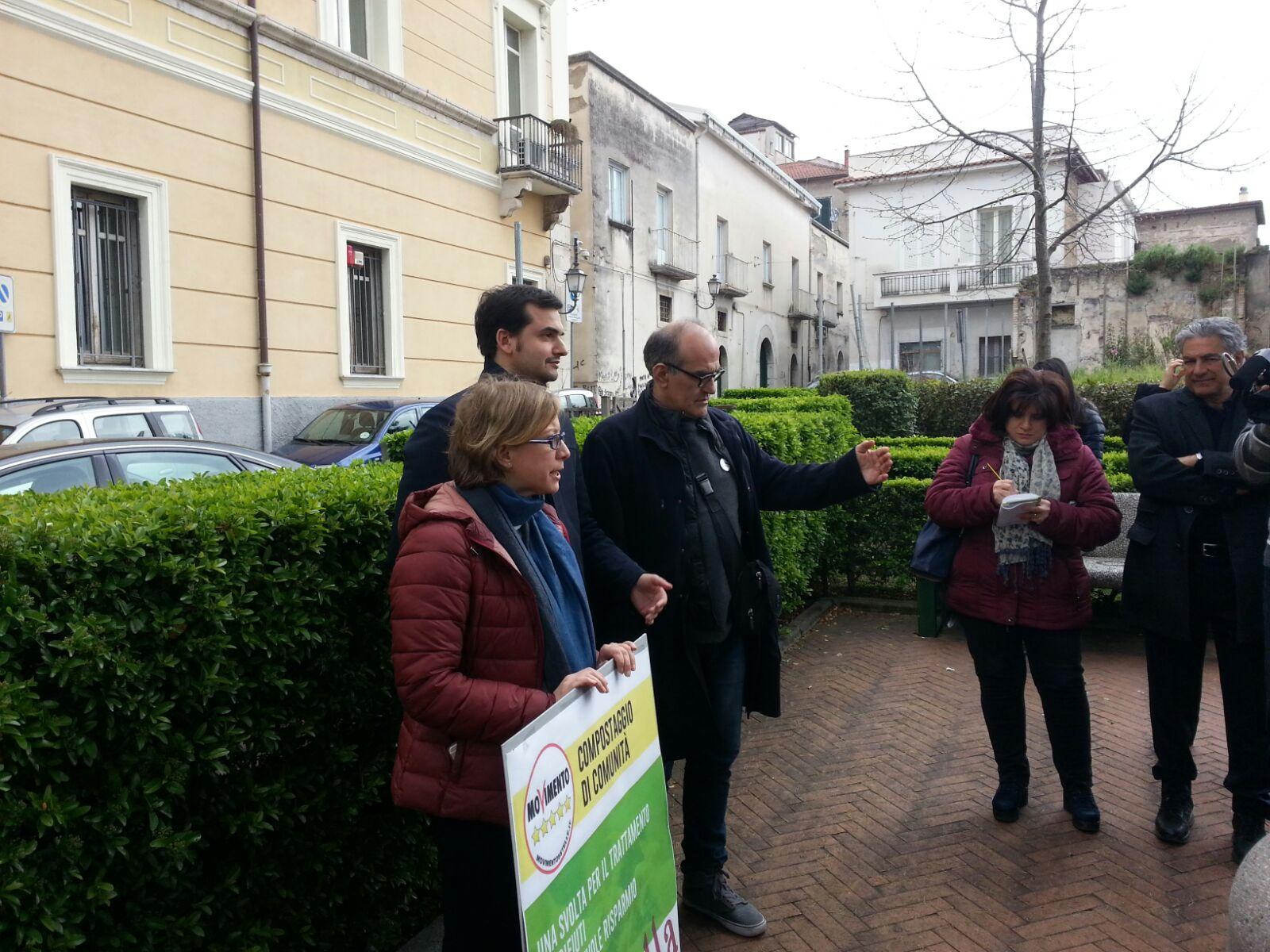 Benevento| Sibilia (M5S)a Mastella: compostaggio scelta virtuosa