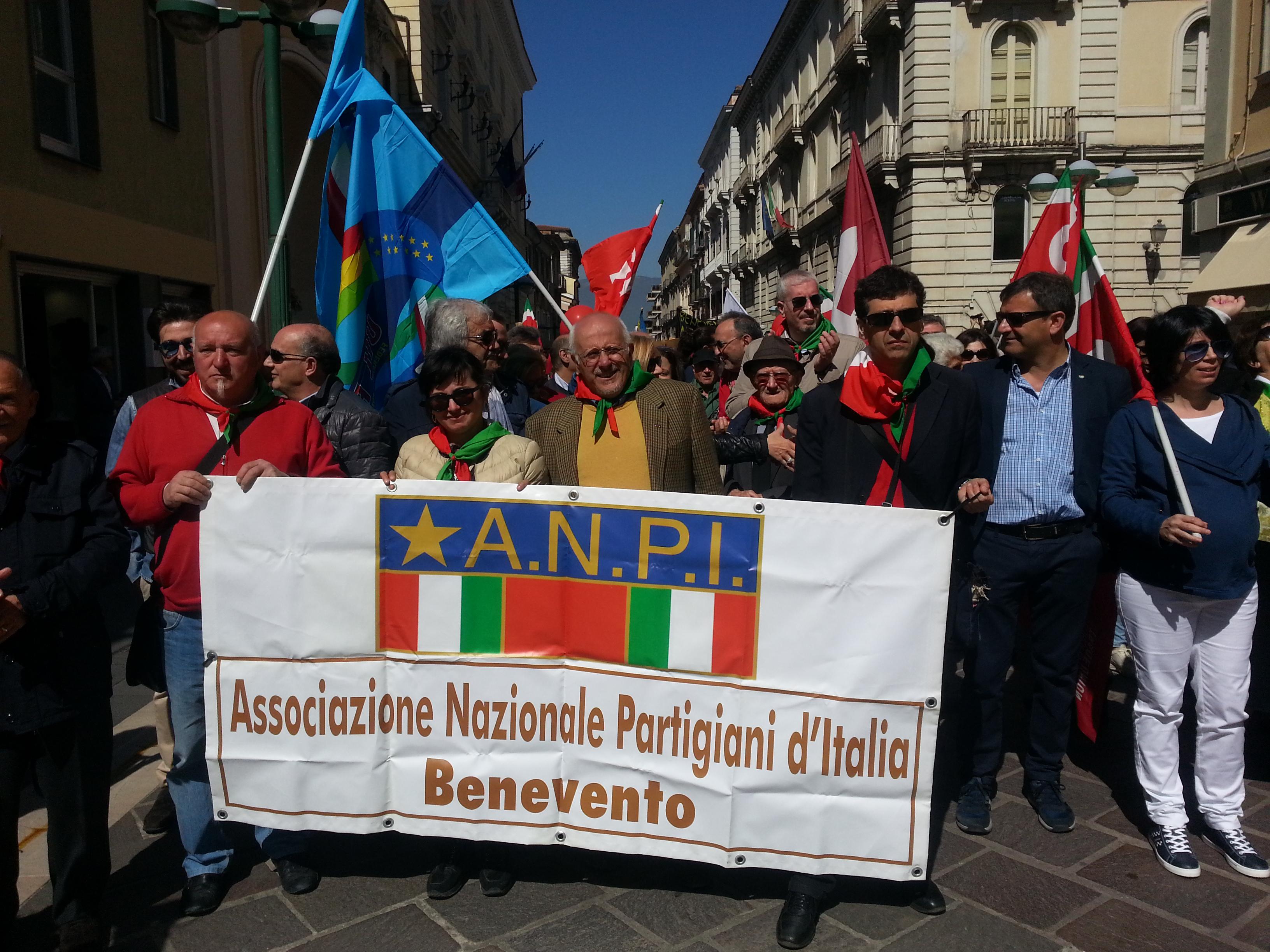 Benevento| ANPI, Forza Nuova organizzazione anticostituzionale