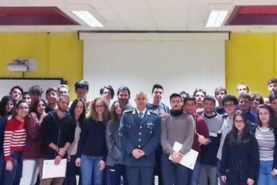 Benevento| Si conclude il ciclo di incontri con le Fiamme Gialle