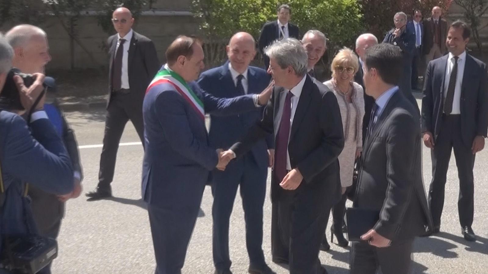 Benevento| Mastella tra Gentiloni e De Luca