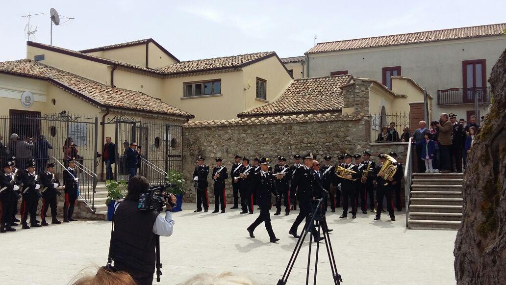 Montefusco, festa grande: ritornano i carabinieri