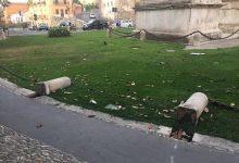 Benevento| Vandali all'Arco di Traiano