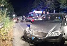Castelpoto| Incidente stradale tra due auto e un trattore/FOTO
