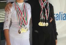 San Giorgio del Sannio| Campionati italiani danza sportiva, trionfo per due giovani ballerini sanniti