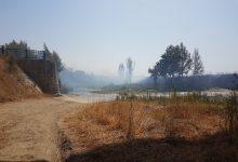 Benevento| Fiamme a Ponte Valentino